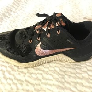 Rose Gold NIKE Metcon 3  Crossfit Shoes